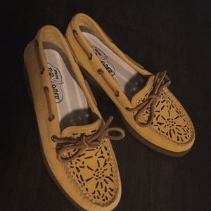 Sperry cut out Top-Siders